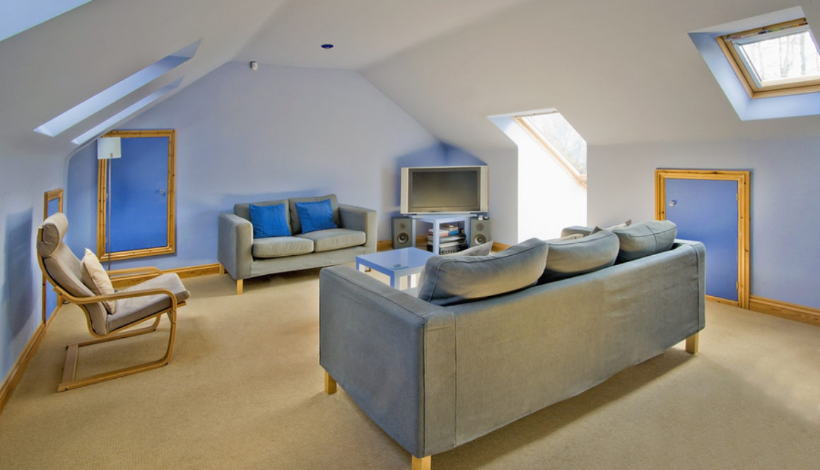 picture of a conversion built by plymouth builders in devon UK