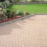 a link and picture of driveways plymouth