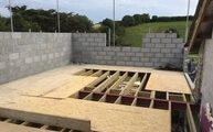 building firm in devon - new build foundations